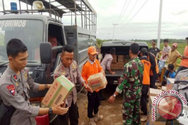 Pemkab Balangan Salurkan Bantuan Warga Terdampak Banjir