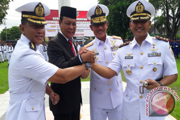 A News Commander of Banjarmasin Naval Base