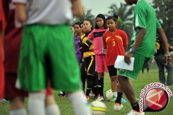 PSSI Seleksi Atlet Timnas Putri Asian Games