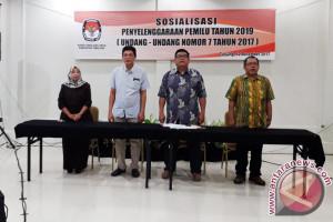 KPU Tabalong Sosialisasi Penyelenggaraan Pemilu 2019