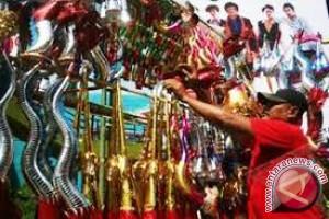 PKL Terompet Mulai Jejali Jalan Protokol Banjarmasin
