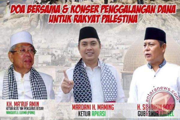 Apkasi Gelar Konser Penggalangan Dana Untuk Palestina