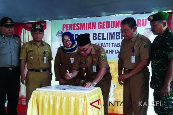 Resmikan SD Negeri 2 Belimbing