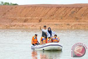 Destinasi wisata Tanah Laut Kalsel ramai pengunjung