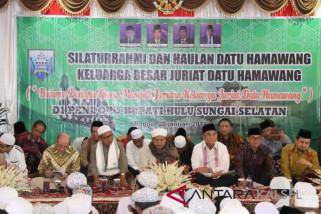 Zuriat Datu Hamawang Gelar Haul dan SIlaturrahmi