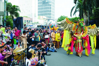 Promosi Budaya Tabalong di CFD Jakarta