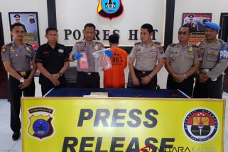Polisi Tangkap Pelaku Kedapatan Buang Sabu-sabu