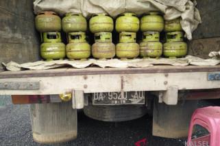 Polres Balangan Sita 200 Tabung LPG Tak Berizin