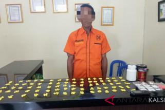 Polres HSU Tangkap Pengedar Pil PCC