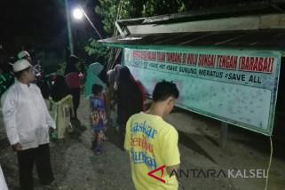 Warga Desa Haliau HST Menolak Tambang Batu Bara