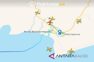 Empat Pesawat Batal Mendarat Akibat Hujan Badai