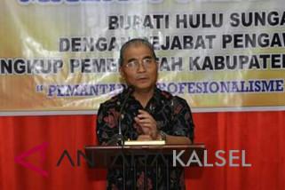 Bupati HSS : Pejabat Pengawas Menentukan Keputusan Pimpinan