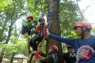 Flying Fox Lengkapi Wahana