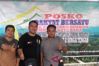 Relawan HST Bentuk Posko Tolak Penambangan