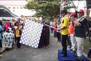 Jalan Santai HUT SMAN 2 Banjarbaru