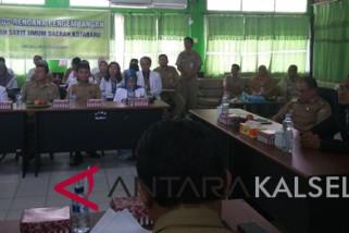 Pemkab Kotabaru Lelang Ulang Konsumsi Pegawai RSUD