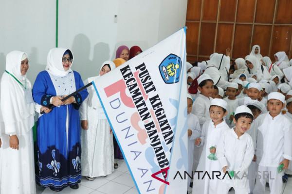 PAUD Banjarbaru Utara Gelar Latihan Manasik Haji