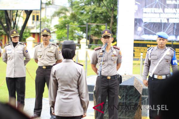 Penjagaan markas polisi di Banjar diperketat