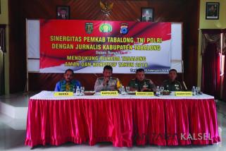 Sinergitas Pemkab Tabalong, TNI, Polri dan Jurnalis