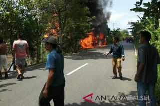 Kebakaran Sungai Kupang Akibatkan Satu  Korban Luka