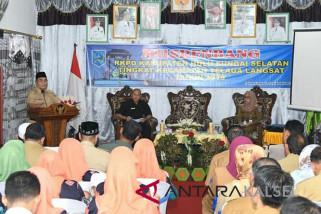 Bupati HSS Buka Musrenbang Kecamatan Telaga Langsat