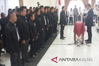 KONI Balangan Periode 2017-2021 Di Pimpin H Duas