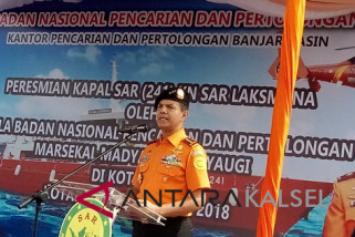 Kapal Basarnas Kotabaru Dilengkapi Alat Telekomunikasi Canggih