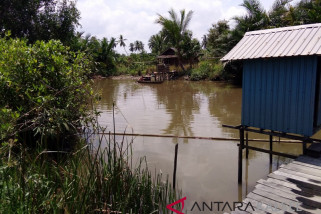 Kadar Keasaman Air Sungai Banjarmasin Meningkat Drastis