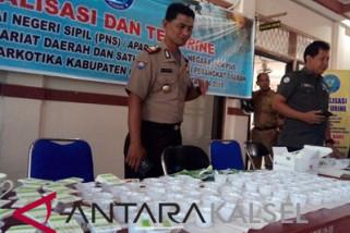 BNK Tes Urine 176 Pegawai Setda Kotabaru