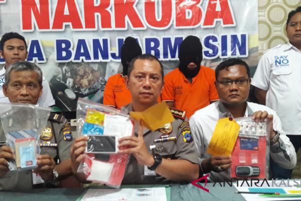 Banjarmasin Police Confiscates 13 Packets Sabu-Sabu