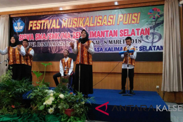 Balai Bahasa Gelar Festival Musikalisasi Puisi