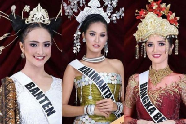 Tiga besar Puteri Indonesia 2018