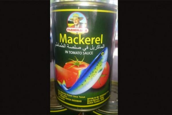 "BPOM Periksa Sarden ""Jack Farmer Mackerel"""