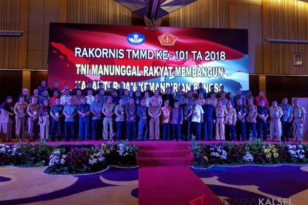 Kodim 1022 Hadiri Rakornis Se Indonesia