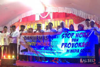 PDIP Banjarmasin Deklarasi Anti