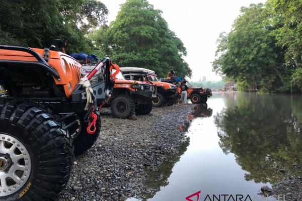Bhayangkara MeX Offroaders Continue to Tandui River