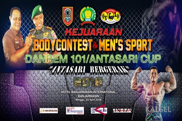 Body Contest Danrem 101/Antasari Cup Tembus 300 Peserta