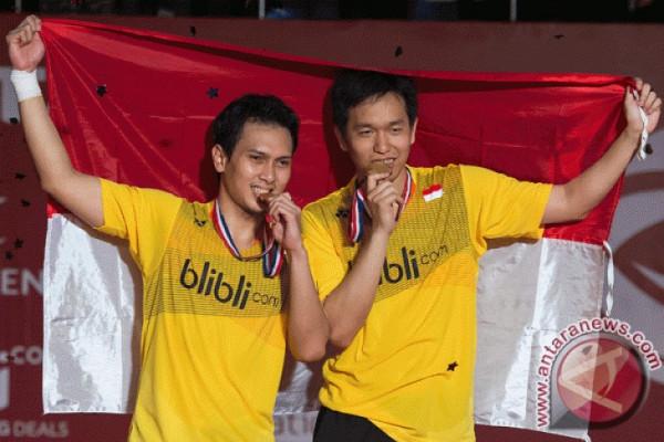 Hendra/Ahsan raih gelar Malaysia IC 2018