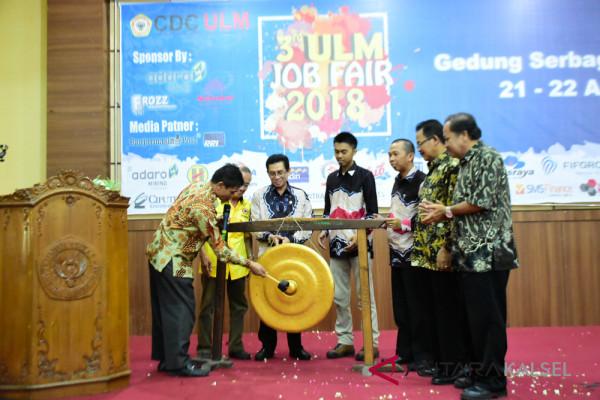 "1.500 pencari kerja hadiri ""Job Fair"" di ULM"
