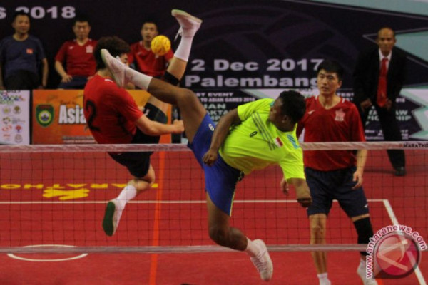 Kemenpora kontrol ketat pelatnas takraw Asian Games