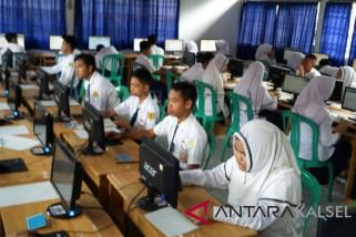 UNBK SMP HSS alami gangguan server dan internet