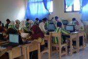 Pelaksanaan UNBK SMP Banjarbaru lancar