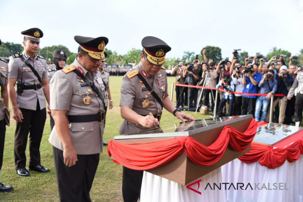 Wakapolri: Type A prize for the conducive South Kalimantan