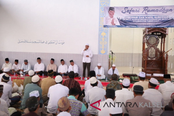 Pemprov Safari Ramadhan ke Tanah Laut