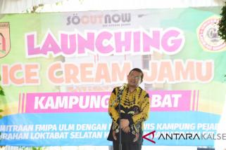 Rektor ULM hadiri peluncuran