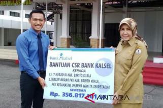 Pemkab Batola Terima Dana CSR Bank Kalsel