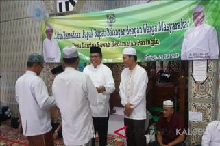 Ketua DPRD Balangan dampingi Bupati Safari Ramadhan