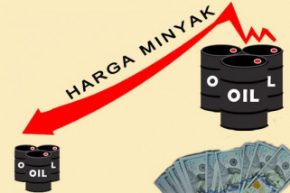 Harga minyak turun tertekan peningkatan persediaan AS