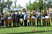 Pemkab Tapin peringati Proklamasi Pemerintahan Gubernur Tentara ALRI Divisi IV