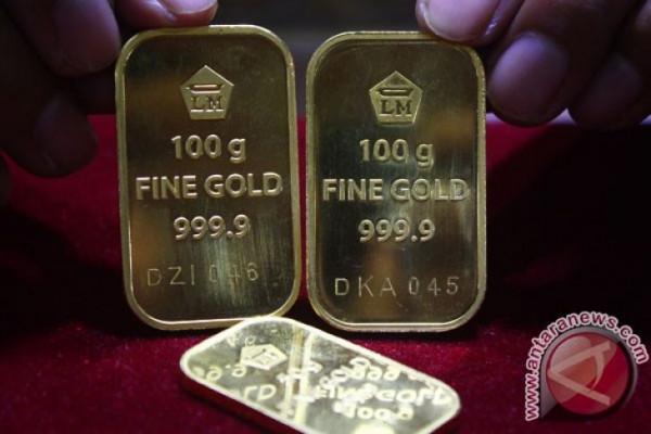 Harga emas berjangka turun tertekan penguatan dolar